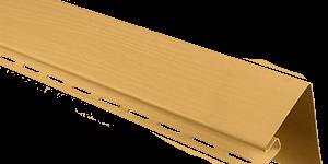 """Планка """"околооконная"""" Т-17 золотистый 3,05"""