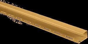 Планка J-трим Т-15 золотистый 3,66