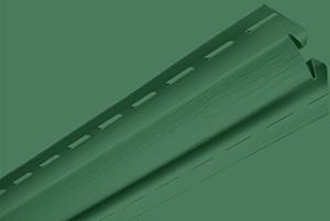 """Планка """"Угол внутренний"""" Т-13 зеленый 3,05"""