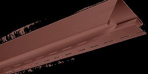 """Планка """"наружный угол"""" Т-12 красно-коричневый 3,05"""