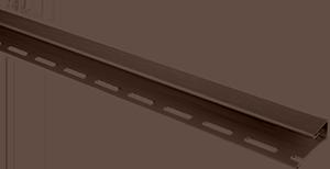 """Планка """"отделочная для откосов"""" коричневая Т-04 - 3,00м"""