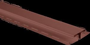 """Планка """"соединительная"""" Красно-коричневый Т-18 3.05 м. (А)"""