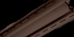 """Планка """"угол внутренний"""" Т-13 коричневый 3,05"""