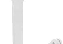 Поворотный элемент кронштейна белый