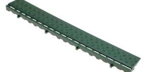 Боковой элемент обрамления с замками (зеленый)